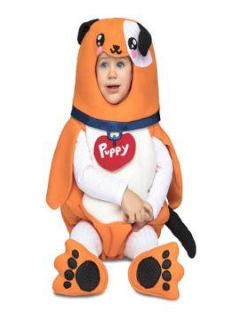 disfraz de perrito naranja bebe
