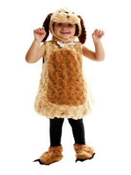 disfraz de perro de peluche niño