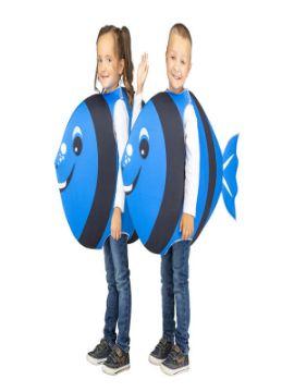 disfraz de pez azul para infantil