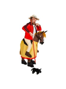 disfraz de picador con caballo adulto