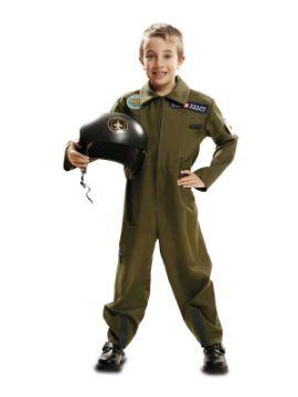 disfraz de piloto aviador top gun niño