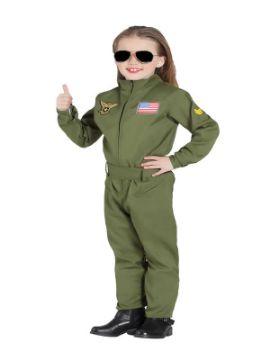 disfraz de piloto avion de combate infantil
