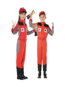 disfraz de piloto coches infantil