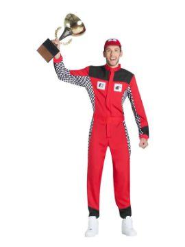 disfraz de piloto de coches hombre