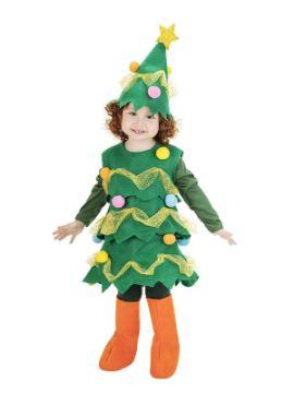 disfraz de pino de navidad para bebe