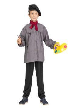 disfraz de pintor frances infantil