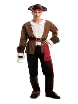 disfraz de pirata bucanero aventurero hombre