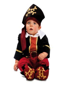 disfraz de pirata corsario para bebe