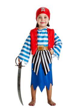 disfraz de pirata picos niña
