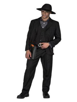 disfraz de pistolero oscuro para hombre