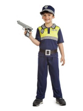 disfraz de policia local niño