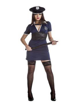 disfraz de policia sexy mujer