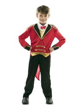 disfraz de presentador de circo para niño