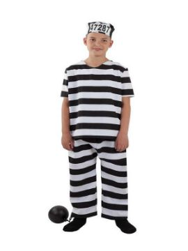 disfraz de preso niño infantil
