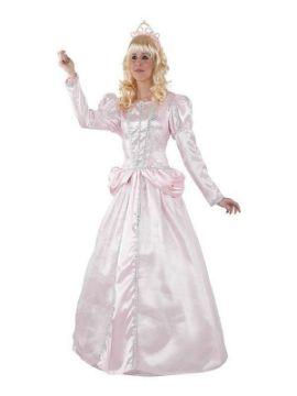 disfraz de princesa bella durmiente rosa mujer