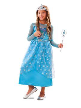 disfraz de princesa de invierno para niña