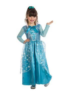disfraz de princesa hielo niña