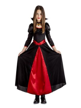 disfraz de princesa vampira niña