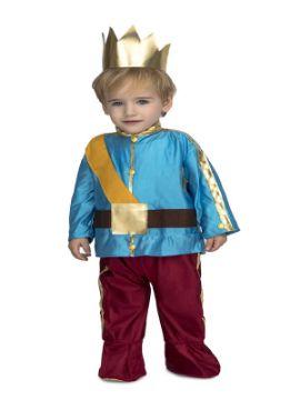 disfraz de principe azul bebe