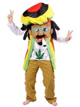 disfraz de rastafari bob marley adulto