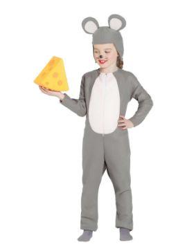 disfraz de raton gris infantil