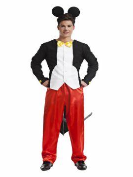 disfraz de ratón mickey de hombre