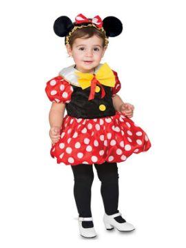 disfraz de ratoncita con topos para niña