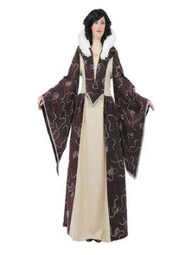 disfraz de reina medieval clasica mujer