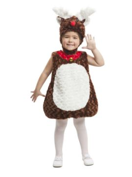 disfraz de reno peluche infantil