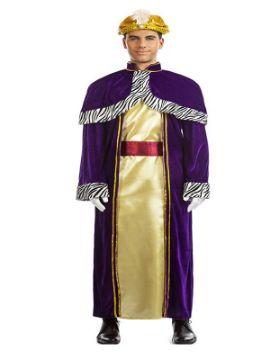disfraz de rey mago baltasar para hombre