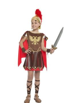 disfraz de romano aguila niño
