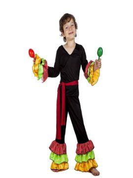 disfraz de rumbero para niño