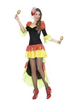 disfraz de salsa para mujer