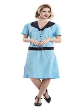 disfraz de secretaria años 20 para mujer