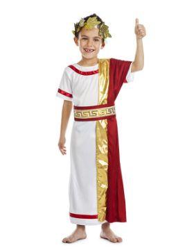 disfraz de senador romano niño