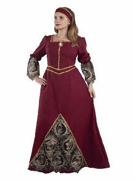 disfraz de señora medieval clasica mujer