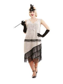 disfraz de señorita años 20 para mujer