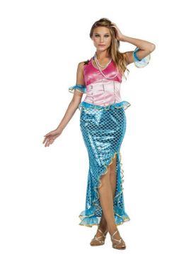disfraz de sirena para mujer
