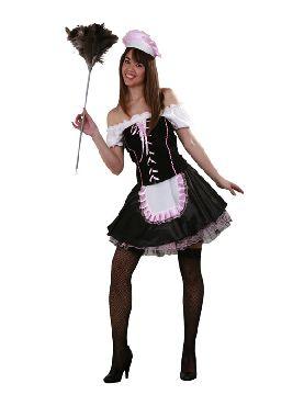 disfraz de sirvienta o criada para mujer