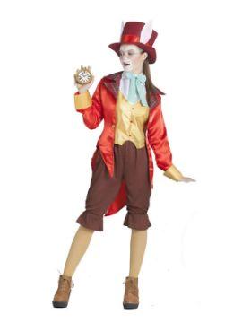 disfraz de sombrerera loca mujer