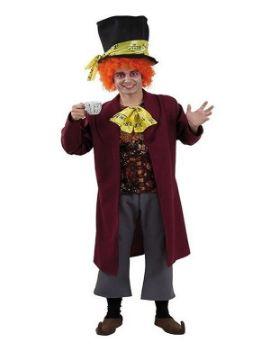 disfraz de sombrerero loco hombre