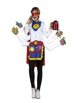 disfraz de super madre para mujer