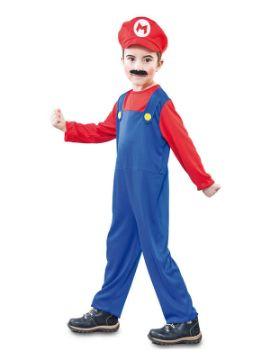 disfraz de super mario barato niño