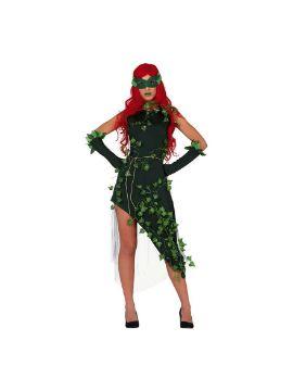 disfraz de superheroina hiedra para mujer