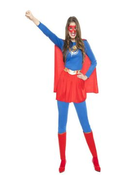 disfraz de superheroina sexy mujer
