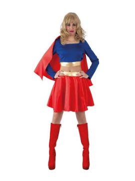 disfraz de superman barato mujer