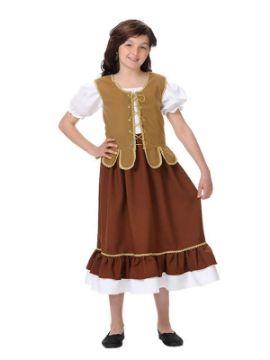 disfraz de tabernera deluxe niña