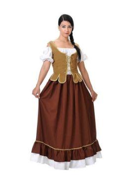 disfraz de tabernera medieval mujer