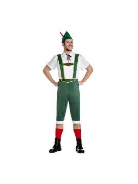disfraz de tiroles verde para hombre