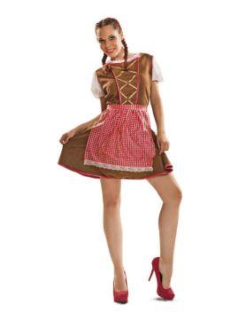 disfraz de tirolesa elegante para mujer